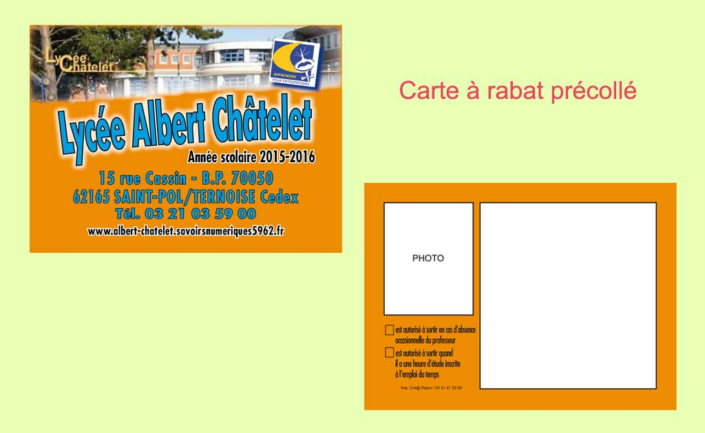 Impression Cartes commerciales